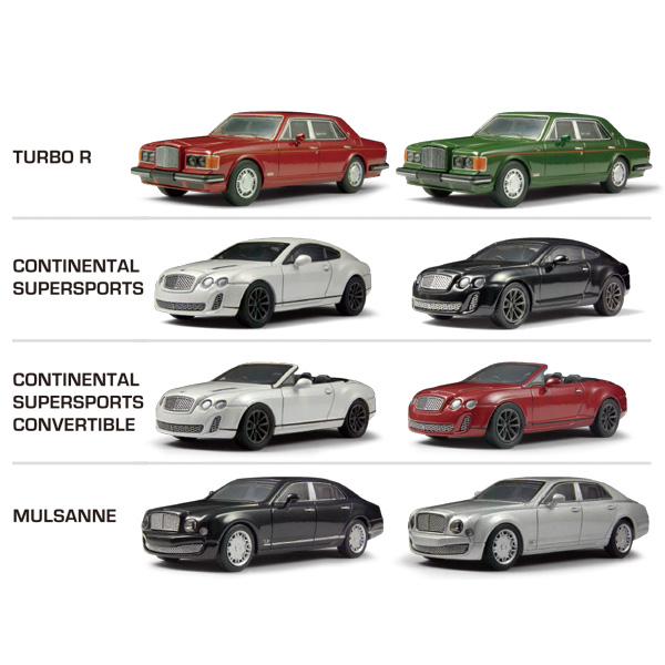 News : Kyosho 1/64 Bentley Minicar Collection | 829 Japan