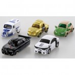 Tomica Star Cars Wave 1 Set of 5