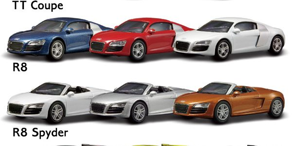 News Kyosho Audi Collection Japan - Audi collection