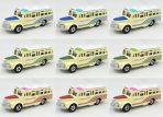 Factory #17 Isuzu Bonnet Bus Set of 9