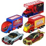 Tomica Marvel T.U.N.E. wave 1 set of 5