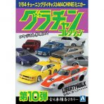 Aoshima 1/64 Grachan Collection Part.10 Case of 12 cars